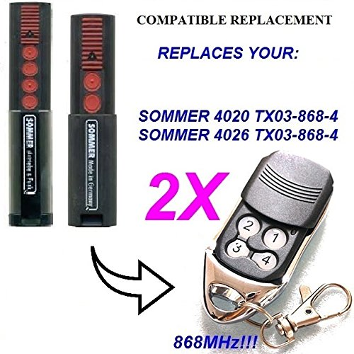 Sommer-remote-control-replacement-2-x-4026-sommer-sommer-4020-compatible-8688-mhz-mando-a-distancia-de-repuesto-8688-mhz-alta-calidad-slider-transmisor-100-compatible-con-8688-mhz-sommer-mandos-a-dist