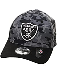 newest bb9f9 5128f New Era NFL OAKLAND RAIDERS Camo Team 39THIRTY Stretch Fit Cap