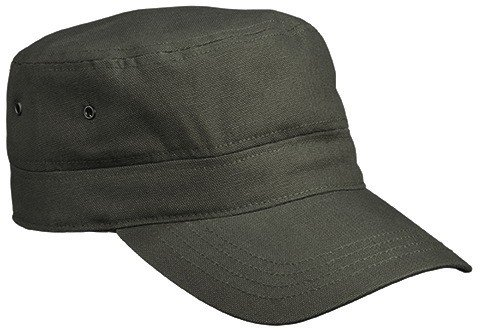 Trendiges Kids Military Army Cap - Farbe: Olive - Größe: One Size Military Cap Olive