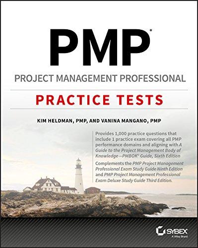 PMP Project Management Professional Practice Tests