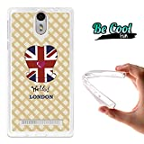BeCool® - Cover Gel Flexible Wileyfox Storm Cover Case Silicone TPU Soft London spirit
