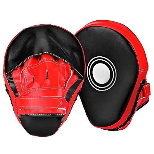 Generic ng Mitts MMA Training P 2 Stück Focus Mitts Boxen Pads, CS Focus Mi Training Punching PU nd Targets 2 Stück Hand-Zielscheiben