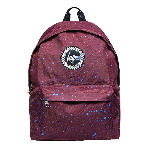 Just Hype Hype bag kit (Splatter), Borsa a spalla uomo Taglia Unica Burgundy / Blue