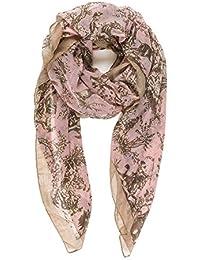 Melifluos Pañuelos Fular Foulard Mujer Bufandas Estampado Diseño Español ...
