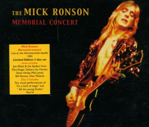 The Mick Ronson Memorial Concert Memorial Music Box