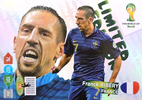 Panini Adrenalyn World Cup 2014 Brazil - Ribery France limited Edition
