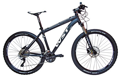 WST Quake 530 Bicicleta de Montaña, Hombre, Negro, 27.5″
