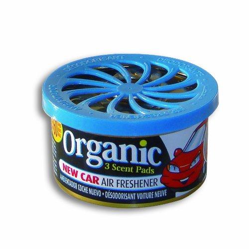LD-Aromaticos Organic - Ambientador para coche (lata, olor a coche nuevo)