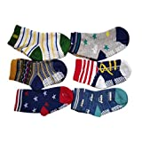 Best Grip Socks - Baby Boy's Cotton Anti Skid Socks Review