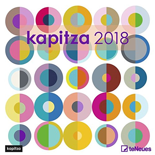 2018 Kapitza Calender - teNeues Grid Calendar- Art Calender - 30 x 30 cm