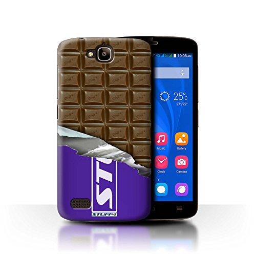 Stuff4 Hülle / Hülle für Huawei Honor Holly / Dairy Milk Blocks Muster / Schokolade Kollektion