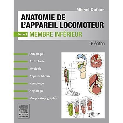 Anatomie de l'appareil locomoteur-Tome 1: Membre inférieur