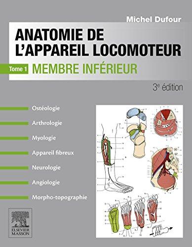 En ligne Anatomie de l'appareil locomoteur-Tome 1: Membre inférieur pdf