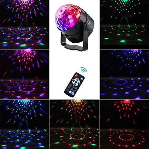 Fernbedienung Disco Ball Licht, mit Prom Party Licht DJ Stage Light Projektionslampe mit Bluetooth-Lautsprecher -530 - Dj Lights Laser