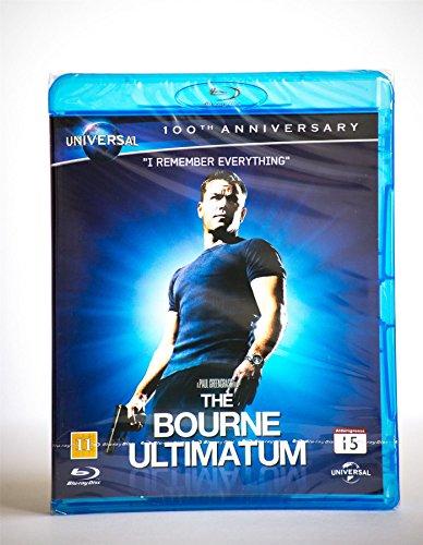 Die Bourne Ultimatum 100Th Jubiläum Blu-Ray Action Region B Neu (Ultimatum Blu-ray Das Bourne)