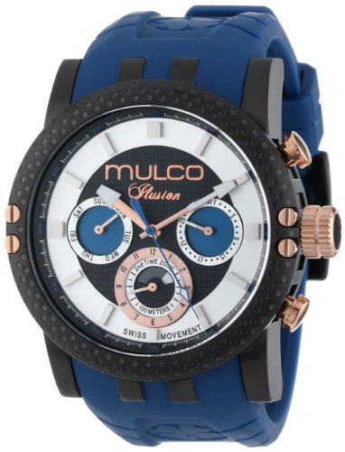 MULCO Unisex MW3-11169-045 Lincoln Illusion Chronographe Analogique Swiss MoveHommet Montre