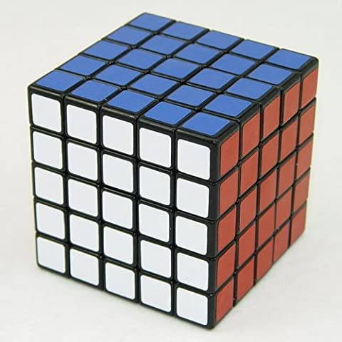 Shengshou 5x5x5 Speed Ultra-smooth 5x5 Noir by CubeShop