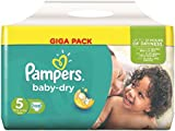 Pampers Baby Dry Size 5 Junior 11-25kg Giga pack 108
