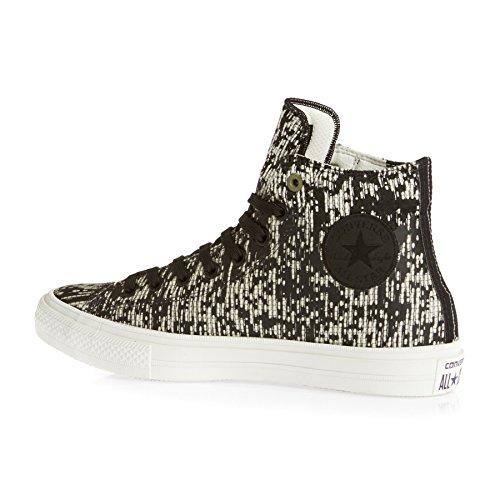 Converse Ct Ii Hi, Sneaker a Collo Alto Unisex – Adulto Nero