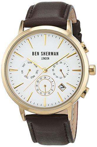 Ben Sherman Herren-Armbanduhr Analog Quarz WB028BRGA