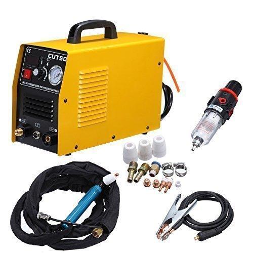 Ridgeyard 50Amp 220V CUT50 Schweißgerät Inverter-Luft-Plasma-Cutter mit Elektro-Druck, Digitalanzeige