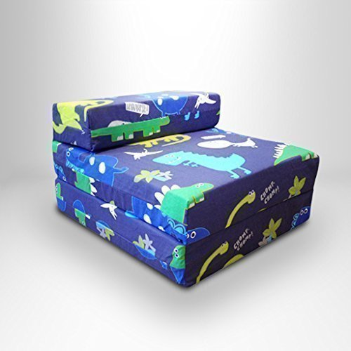childrens-single-fold-out-z-bed-chair-dinosaurs-in-the-dark