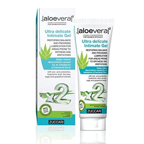 Zuccari - Linea Aloe Vera X2 - Gel Intimo Ultradelicato Da 80 Ml