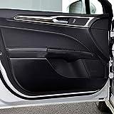LUVCARPB 4 Stück Auto Innentür Abdeckung Kratzschutz Anti Kick Pads Carbon Fiber Aufkleber, fit für Volkswagen VW Tiguan 2010-2017