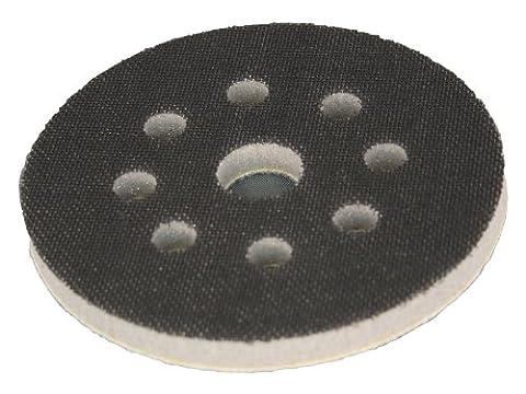 Softauflage Ø 125mm 8-Loch Interface-Pad für Schleifteller Polierteller Stützteller für Klett-Schleifscheiben - DFS