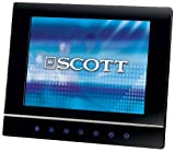 Scott PFX 800 Digitaler Bilderrahmen (20, 3 cm (8 Zoll) Display,  SD/MMC/MS/CF-Kartenleser,  1 GB Speicher,  USB 2.0) schwarz