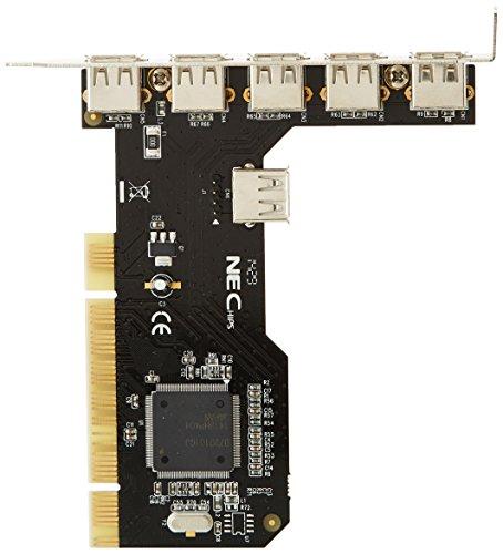 LINDY USB-Karte (5 Port USB 2.0 PCI, 32Bit) -