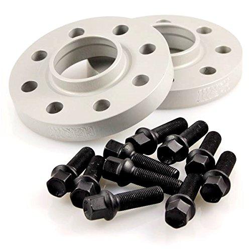 Preisvergleich Produktbild TuningHeads/H&R .0426676.DK.SB-3055668.A7-4G-4G1 Spurverbreiterung BlackDrive, 30 mm/Achse + schwarze Radschrauben, 30 mm/Achse