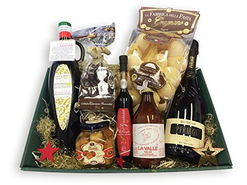 Geschenkkorb IL MEGLIO D'ITALIA mit ausgesuchten italienischen Spezialitäten