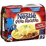 Nestlé p'tite recette hachis parmentier 2x200g dès 8 mois - ( Prix Unitaire ) - Envoi Rapide Et Soignée