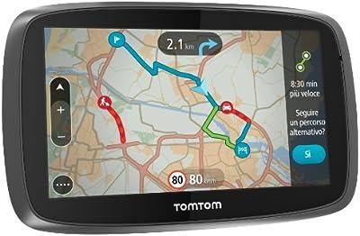 TomTom GO BT 510 - Navegador GPS Bluetooth (pantalla táctil 5
