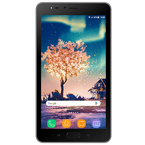 15 Quad Core 1,3 GHz 16 GB ROM 2 GB RAM Kamera 8 MP 5 MP HD 3G+ Tablet PC WiFi Face ID Dual SIM 3600 Dual Flash GPS Smart Gesto Schwarz ()