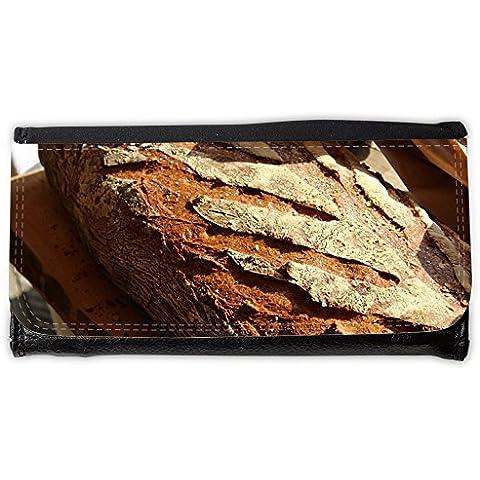 Cartera unisex // M00241489 Bread Loaf farina di frumento da cucina // Large Size Wallet