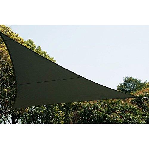 Voile d'ombrage Triangulaire (L4m) Curacao Gris