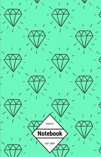 gmco-notebook-journal-dot-grid-lined-graph-120-pages-55x85-green-blink-blink-diamonds