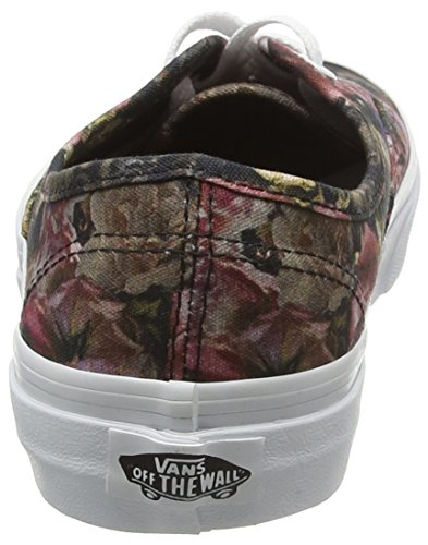 Vans Authentic, Scarpe da Ginnastica Basse Unisex – Adulto Multicolore (Moody Floral Black/True White)