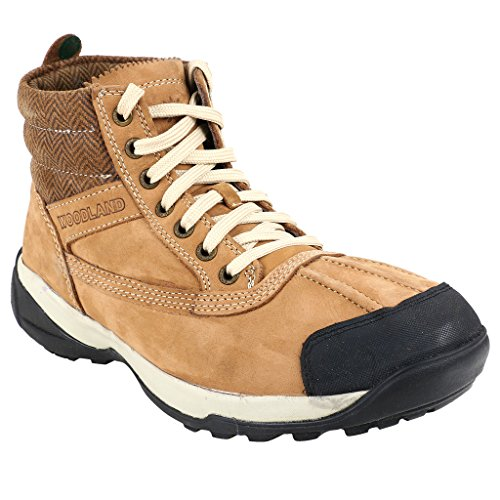 Woodland Adventure Series Camel Colour Casual Shoes For Men (Size : 7 UK or 41 EURO)  available at amazon for Rs.3516