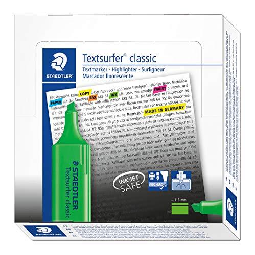 Staedtler  364-5 Evidenziatore, colore verde