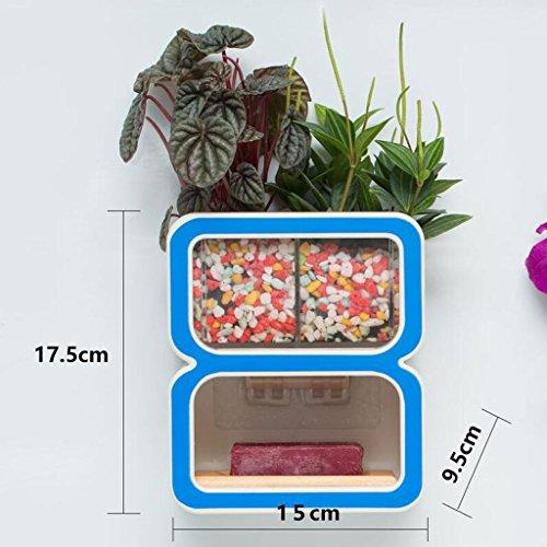 Tapis de bain Xuan - Worth Having Créative numéro 8 Style Porte-Savon Bleu Ventouse Type étagère