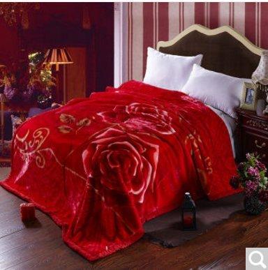 BDUK Die DOPPEL raschelmaschinen Decke 6-8 Warm-Catty dicke Decke,H,200*230cm 3,5Kg