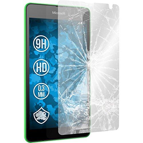 2 x Microsoft Lumia 535 Glas-Folie klar PhoneNatic Panzerglas für Lumia 535