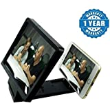 [Sponsored Products]Drumstone Black Mobile Phone Enlarge Movie Screen HD Magnifier 3D Portable Folding Stand Screen Compatible With Xiaomi Mi, Lenovo, Apple, Samsung, Sony, Lenovo, Oppo, Vivo Smartphones (One Year Warranty)