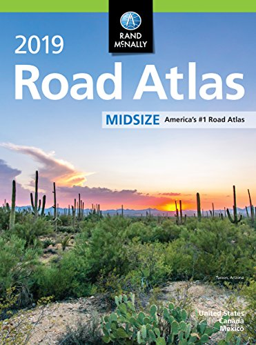 Rand McNally 2019 Midsize Road Atlas (Rand McNally Road Atlas Midsize) por Rand Mcnally