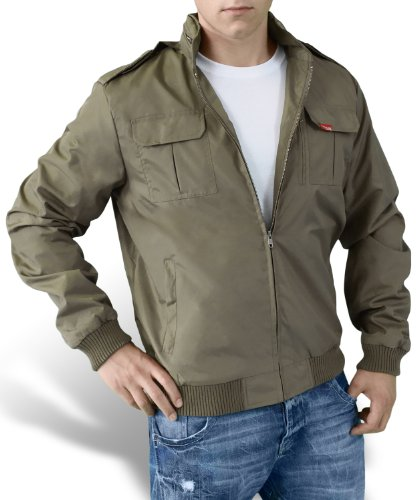 Surplus Vintage Basic Summer 75 Coupe-vent Imperméable Army M65 Style Olive