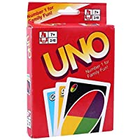 UNO Playing Card Game Standard Classic (1 Pack, classic)