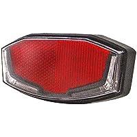 Spanninga V610012A Rücklicht, Unisex, Erwachsene, Rot